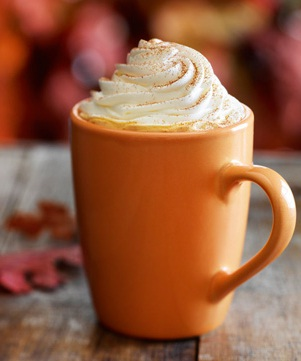 Pumpkin Maple Spiced Latte